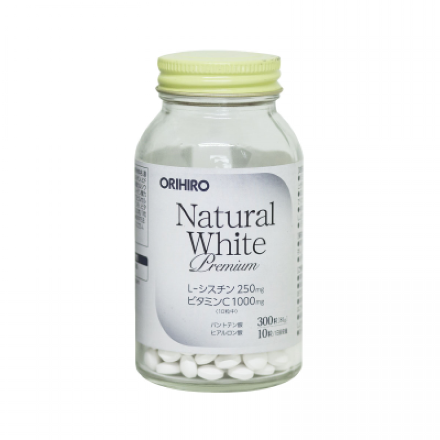 Viên Uống Trắng Da Natural White Premium Orihiro Nhật Bản
