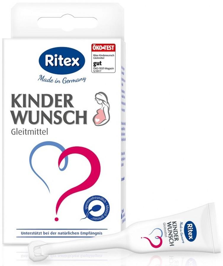 Gel Ritex KinderWunsch Gleitmittel Hỗ Trợ Sinh Sản Nữ
