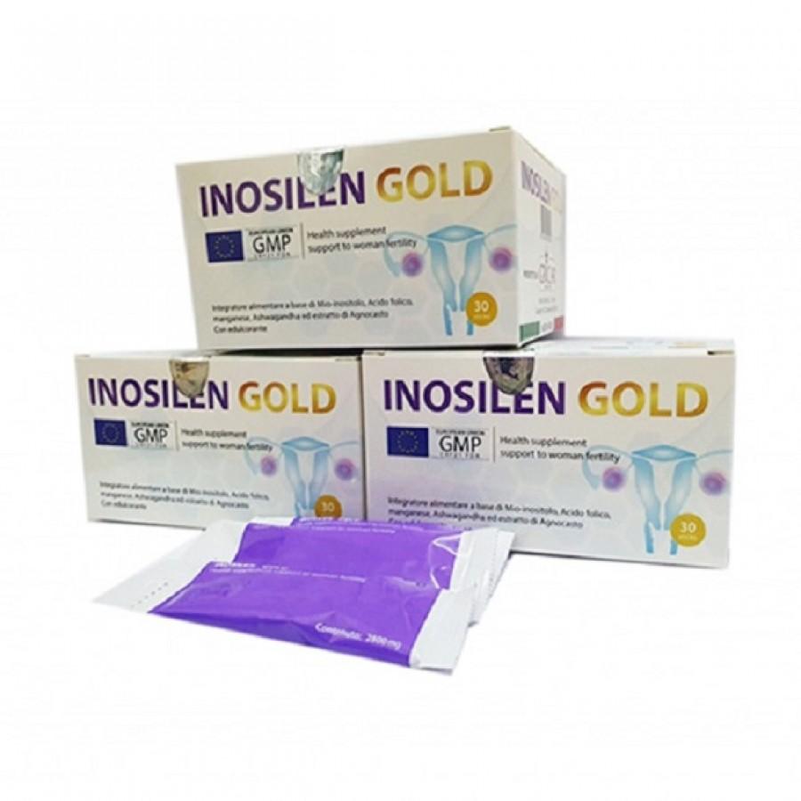 Gói Uống Inosilen Gold Hỗ Trợ Sức Khỏe Buồng Trứng