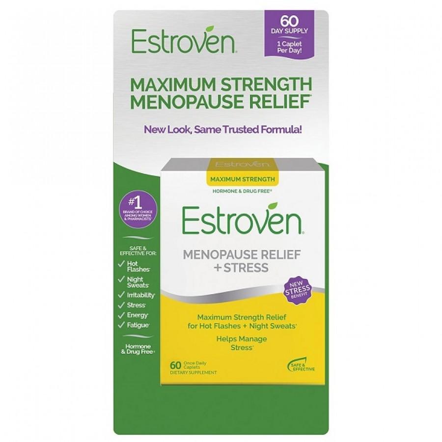 Viên Uống Hỗ Trợ Nội Tiết Tố Nữ Estroven Maximum Strength Energy