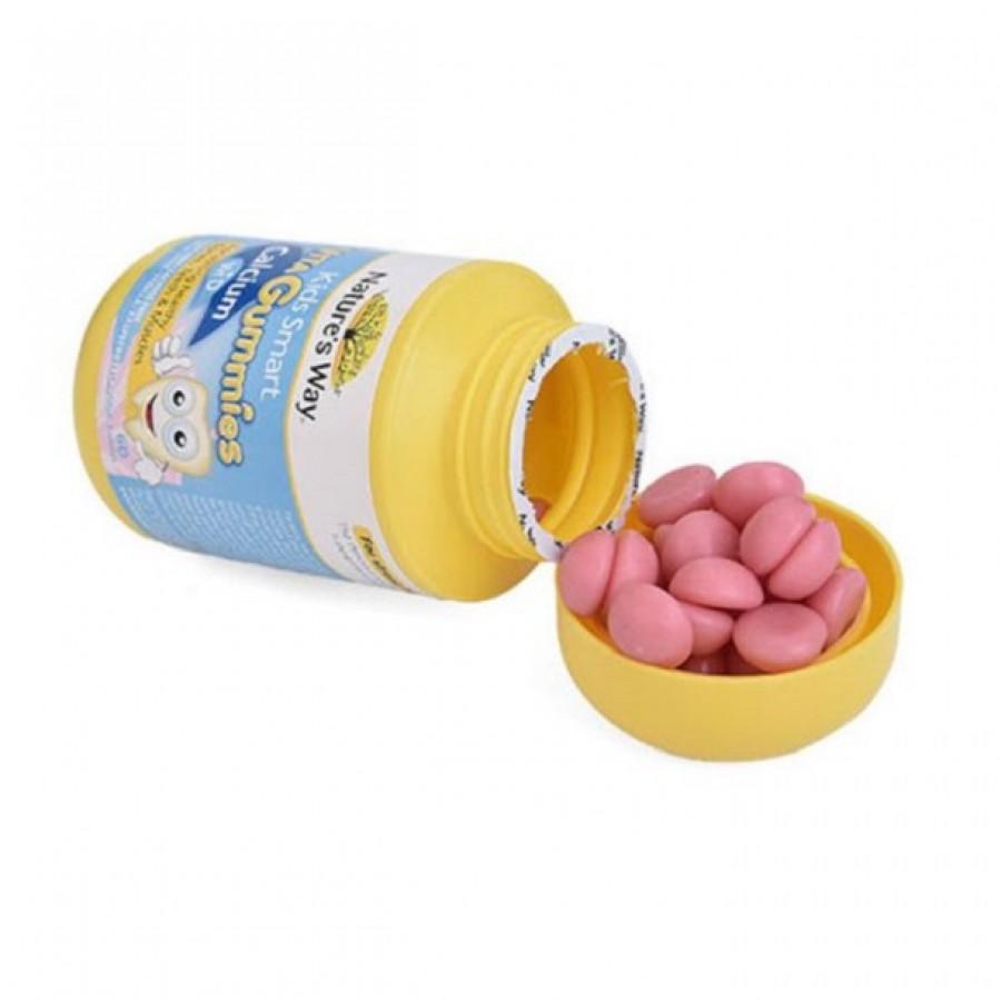 Kẹo Vita Gummies Nature Way Bổ Sung Canxi + Vitamin D 60 Viên