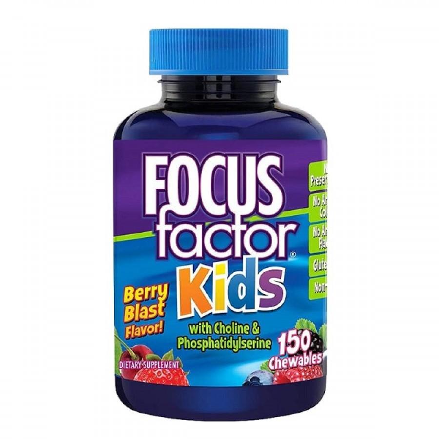 Kẹo Dẻo Cho Trẻ Bổ Sung Vitamin Focus Factor Kids Của Mỹ