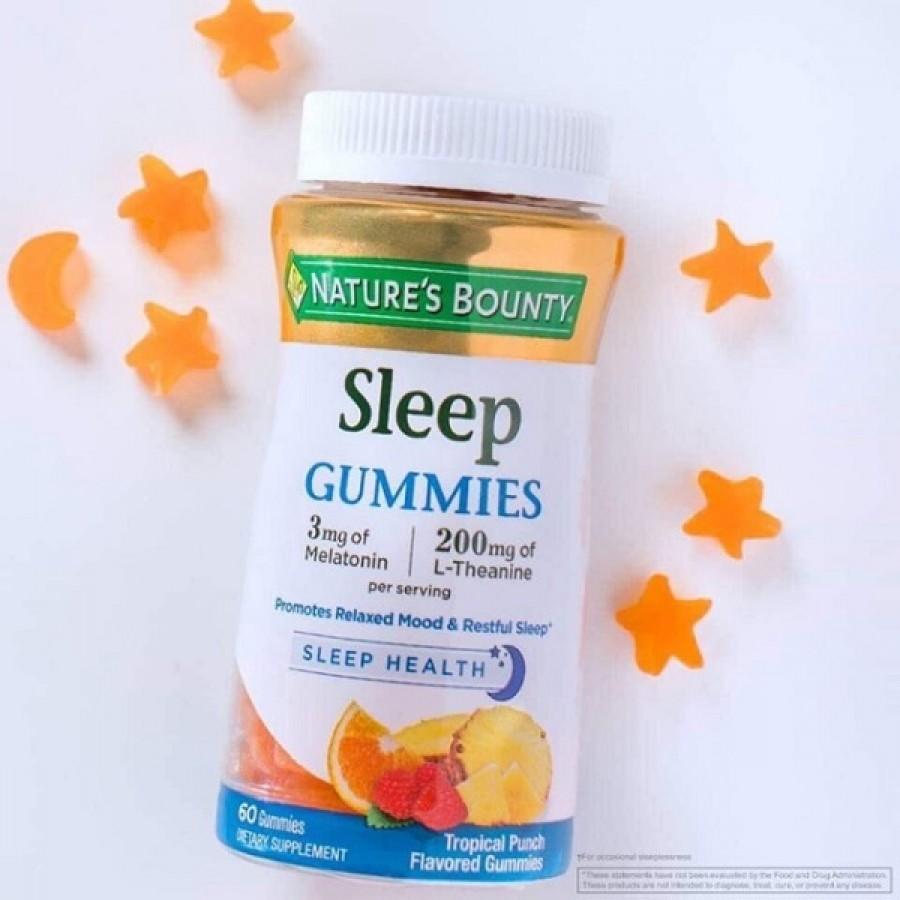 Kẹo Dẻo Hỗ Trợ Ngủ Ngon Nature's Bounty Sleep Gummies