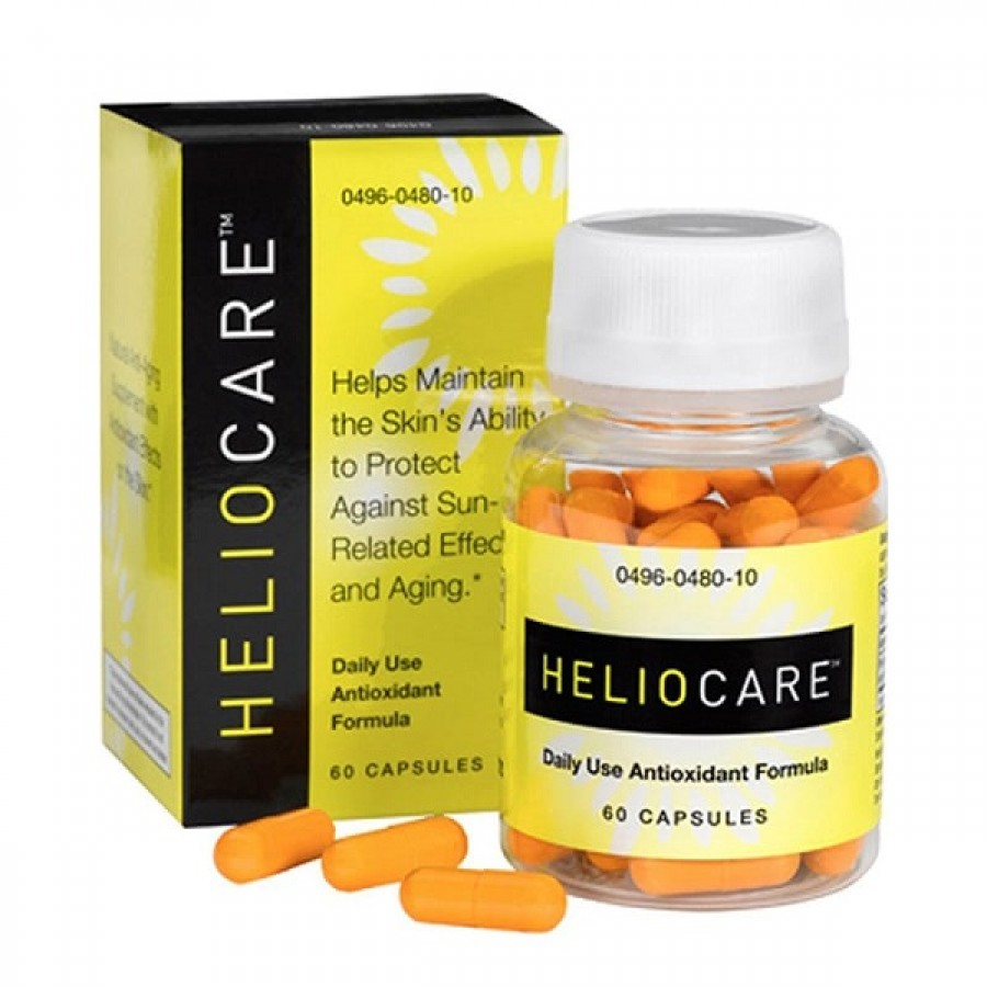 Viên Uống Chống Nắng Heliocare Daily Use Antioxidant Formula