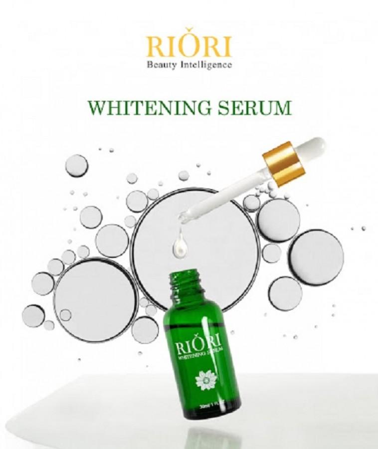 Serum Dưỡng Da Trẻ Hóa Riori Whitening 30ml
