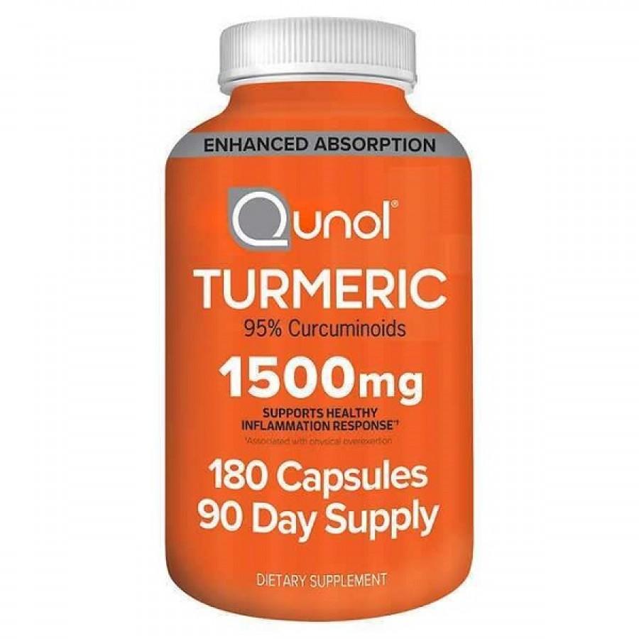 Viên Uống Tinh Chất Nghệ Qunol Turmeric 1500mg Của Mỹ