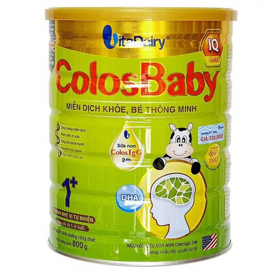 Sữa Non Colosbaby IQ Gold 1+ Cho Trẻ Từ 1 - 2 Tuổi