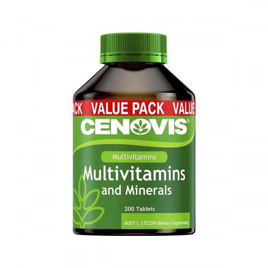 Viên Uống Cenovis Multivitamin & Minerals Hỗ Trợ Tăng Đề Kháng