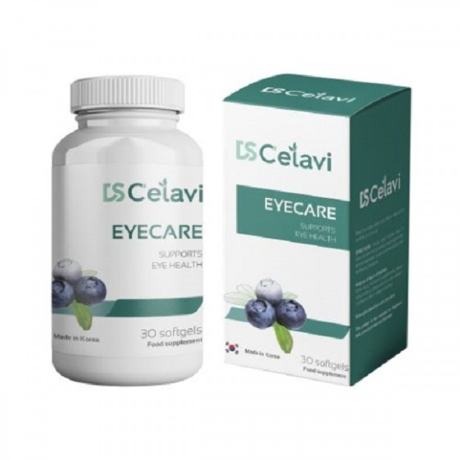 Viên Uống Hỗ Trợ Bổ Mắt DS Celavi Eyecare