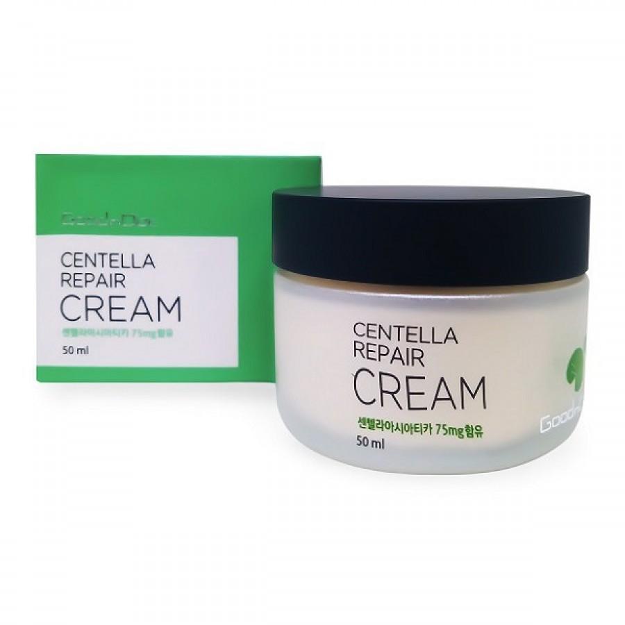 Kem Dưỡng Ẩm Phục Hồi GoodnDoc Centella Repair Cream