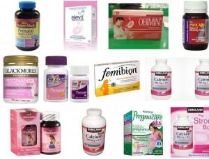 Vitamin và khoáng chất trước và sau sinh