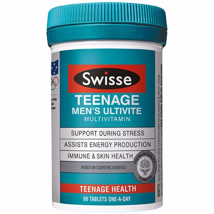 Vitamin Tổng Hợp Swisse Teenage Ultitive Men's, Swisse Teenage Ultitive Men's