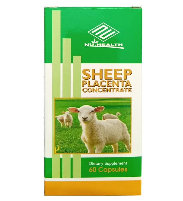Viên uống nhau thai cừu Sheep Placenta Concentrate Nu-Health