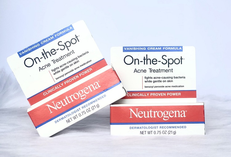 kem cải thiện mụn Neutrogena On The Spot Acne Treatment, kem chấm mụn Neutrogena On The Spot Acne Treatment, kem cải thiện mụn Neutrogena On The Spot Acne Treatment 21g, kem cải thiện mụn đầu đen Neutrogena On The Spot Acne Treatment