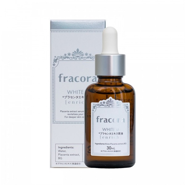 Serum Fracora White Enrich hỗ trợ trắng da, serum fracora white enrich có tốt không, serum fracora white enrich, review serum fracora white enrich, serum fracora white enrich review, serum fracora white'st enriched, serum fracora white'st enrich, serum nhau thai fracora white placenta extract enrich 30ml, serum fracora white enriched